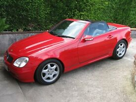 MERCEDES-BENZ SLK 2.3 - UNIQUE-FULL OF EXTRAS