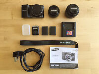 Samsung NX1000 SMART 20.3MP Camera - Black (20-50mm & 16mm wide pancake Lens)