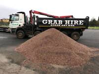 Grab hire aggregates tipper hire muck away cheaper than a skip