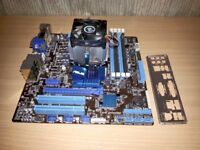 AMD FX-6100 3.3GHz CPU and Asus M5A78L-M/USB3 Micro ATX Motherboard