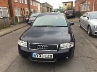 Audi A4 leather, electric f/windows/wing, reverse censors, very reliable for time I've owned it.