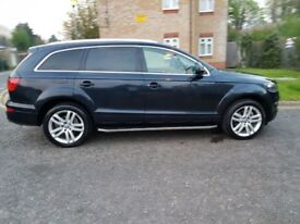 2007 Audi Q7 3.0 TDI Limited Edition Tiptronic Quattro 5dr Warranted Mileage @07445775115