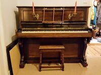 John Broadwood and Sons Upright Piano, made in 1893