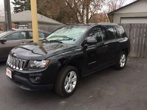 2016 JEEP COMPASS SPORT 4X4- ALLOY WHEELS, CRUISE CONTROL, CD PL