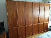 G Plan teak veneer bedroom furniture suite