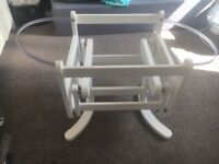 Swinging Moses basket stand from Mothercare