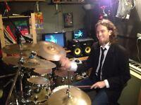 Drum Teacher. £20/h. First lesson FREE.