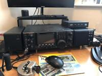 Icom IC 9100 +.PS 125 power supply + SP21 speaker