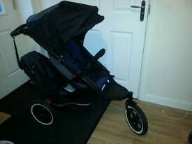 Phil& Teds Duble Buggy ( aks for £100 or sensible offer)