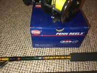 Boat rod and reel