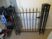 well made heavy garden gates.