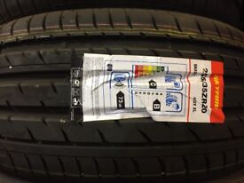 Pair of Brand New Tyres 255/35R20