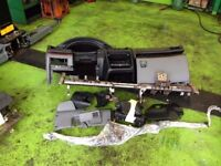 PEUGEOT 406 LEFT HAND DRIVE DASH AND STEERING RACK, COMPLETE KIT FOR SALE.