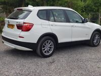 BMW X3 ARCTIC WHITE IMMACULATE CONDITION. CAT D REPAIRED TO HIGH STANDARD.