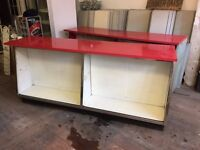 1960s Shop Counter x2