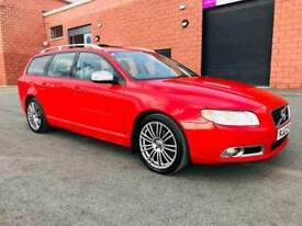 MARCH 2010 VOLVO V70 R DESIGN SE D FULL SERVICE HISTORY EXCELLENT CONDITION