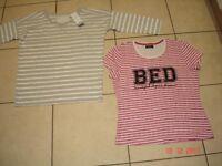 Two Pyjama Tops