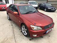 2000 LEXUS IS200 2.0 RED MANUAL RWD