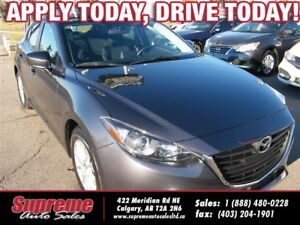 2016 Mazda MAZDA3 SPORT GS 6-SPEED/B.CAM/S.ROOF/H.SEATS