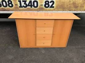 solid solid beech wood sideboard
