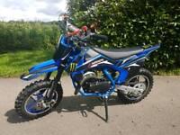 Hawkmoto 49cc mini moto dirt bike 50cc kids motorbike