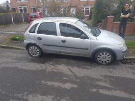 Vauxhall corsa life 1 litre