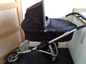 Quinny Speedi Pram and Pushchair. Excellent condition with My Child buggy board included.