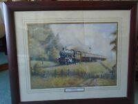 PICTURE OF A STEAM TRAIN