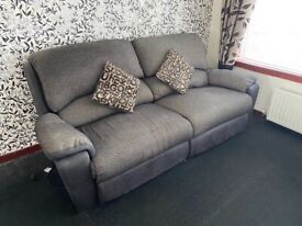 3+2 seater electric power recliners used