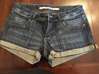 Topshop Denim shorts size 8