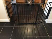 Baby Dan - configure gate Medium - black