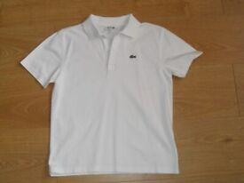 Lacoste T Shirt age 14