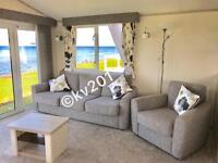 **BEACHFRONT**•• brand new•• 3 bedroom platinum caravan for hire at craig tara
