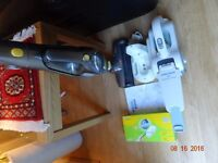 BUNDLE-2x cordless vacuum cleaners ( One powerful like your corded) second one for car cleaning