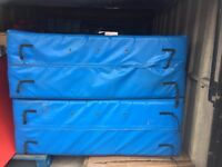 2 Huge Crash Mats, 2.50m x 1.70m x 60cm RRP Well Over £2200