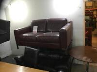 Quality leather 2 seater sofa