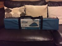 2 Person Dome Tent With Porch - Light Blue - Brand New - unused, unopened and undamaged item
