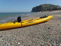 ocean kayak drifter angler