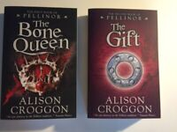 Pellinor series by Alison Croggon: 'The Bone Queen' and 'The Gift'