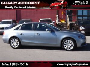 2011 Audi A4 2.0T AWD/LEATHER/SUNROOF/MUST SEE