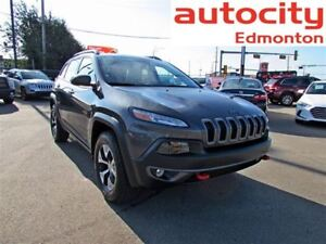 2016 Jeep Cherokee Trailhawk 4x4 Leather Sunroof Navigation