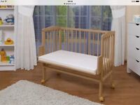 Co sleeper cot