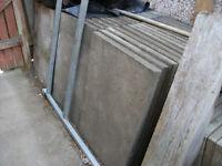 CONCRETE SLABS 3ft x 2ft (900 x 600) GREY