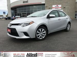 2014 Toyota Corolla LE. Heated Seats, Backup Camera, Bluetooth