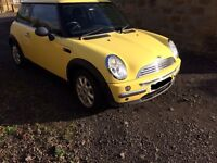 Mini One 1.6 Petrol repair / spares
