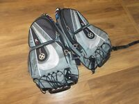 oxford x60 Lifetime motorcycle panniers soft luggage New
