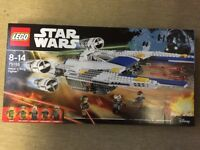 Lego 75155 - Star Wars Rebel U-Wing Fighter - Brand New in the Box and Sealed
