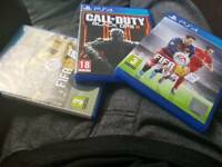 Ps4 games all 3