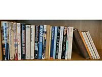 25 Mixed Book Including Action and Crime Paperback Novels with some classic books too
