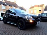 MERCEDES ML320 SPORT AUTOMATIC EDITION 10 5 DOOR FSH HPI CLEAR EXCELLENT CONDITION